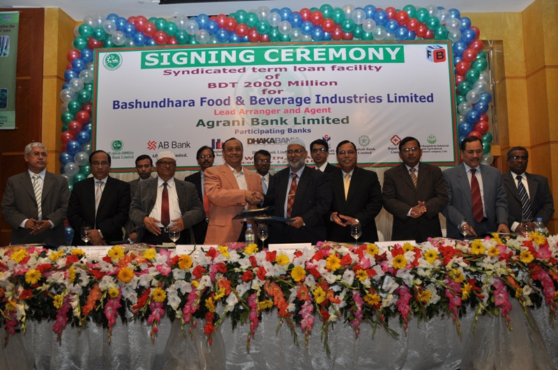 Agreement Signing of BFBIL