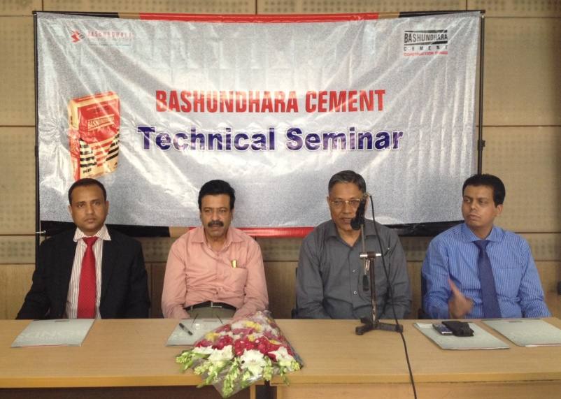 Bashundhara Cement Technical Seminar