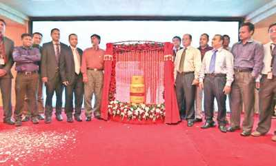 Bashundhara Group, country's leading business conglomerate, launches 'Bashundhara LP Gas Premium' at a ceremony at Bashundhara City in the capital on Thursday.