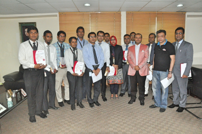 Bashundhara-Group-Awarded-its-109-Officials