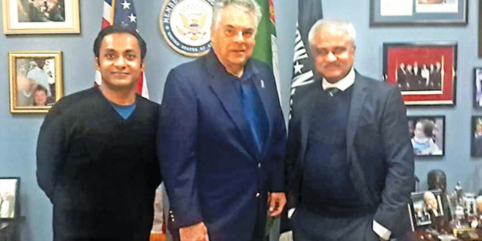 US Congressman urges Bangladeshis to join the fight against terrorism