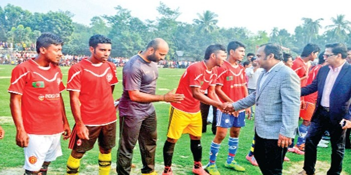 Bashundhara Cement Victory Day Football Tournament starts