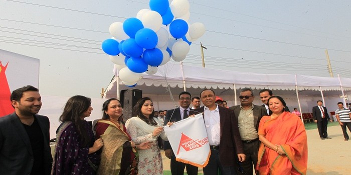 Bashundhara winter camp 2015 for nation child kicks off