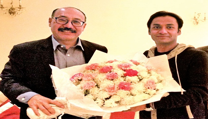 Sayem-Sobhan-greets-new-Indian-envoy