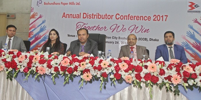 Bashundhara Paper Mills holds annual distributor conference 2017