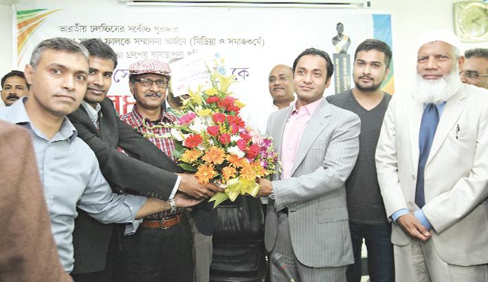 Sayem Sobhan accorded reception