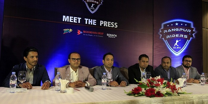 Rangpur Riders begin new journey with Bashundhara Group