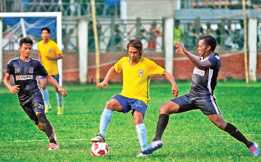 Sheikh Jamal upset Saif SC in a friendly