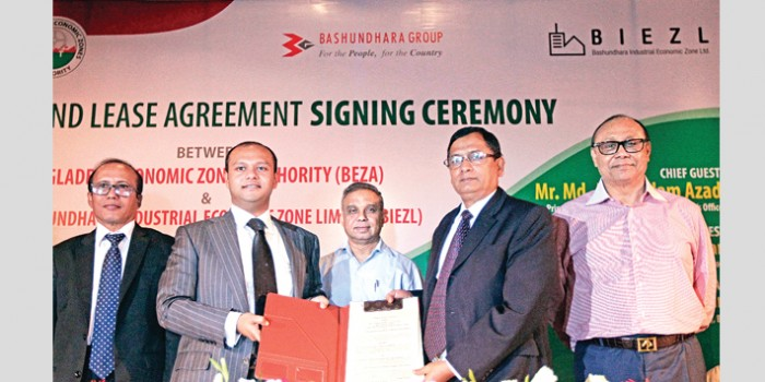 Bashundhara signs MoU with BEZA for Mirsarai EZ land